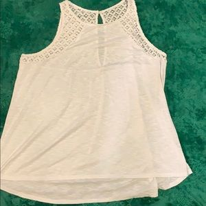Maurice's knit and lace tank top size XL